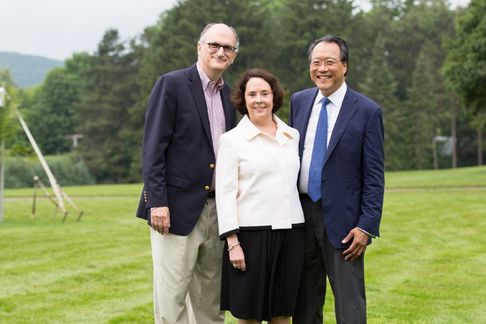 BSO Managing Director Mark Volpe with Jill Hornor and Yo-Yo Ma.jpg