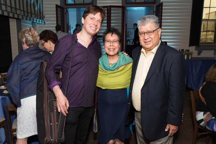 Opening Night Guest violinist Joshua Bell with event Co-Chairs Lina Plantilla and Eduardo Plantilla.jpg