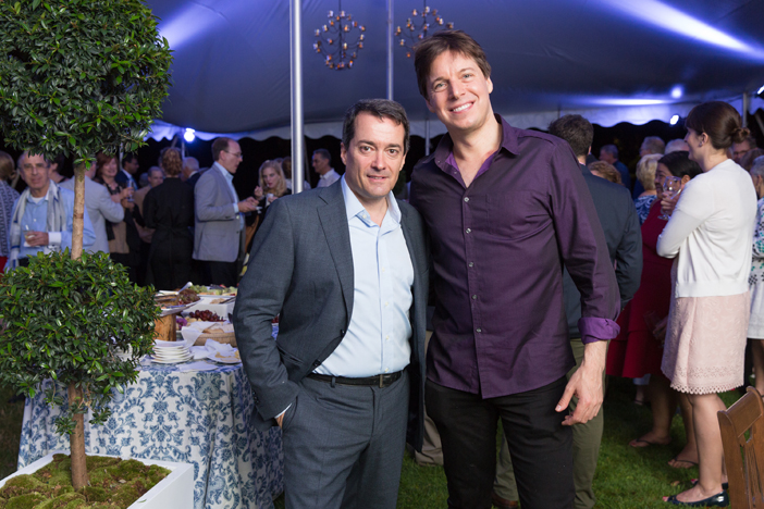 Post Concert Reception with Opening Night conductor Jacques Lacombe and star violinist Joshua Bell.jpg
