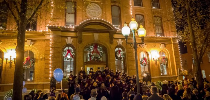 Holidays shine bright in area parades, strolls, and activities